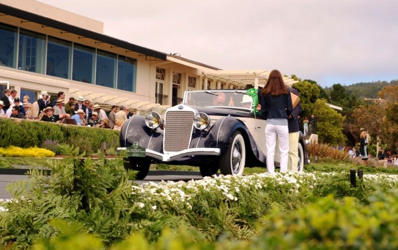 Car-Revs-Daily.com PEBBLE BEACH 2014 Concours - Award Winners Showcase by Entry Class 92