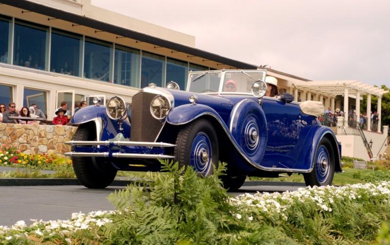 Car-Revs-Daily.com PEBBLE BEACH 2014 Concours - Award Winners Showcase by Entry Class 95