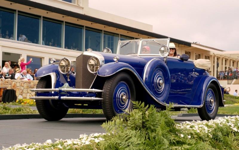 Car-Revs-Daily.com PEBBLE BEACH 2014 Concours - Award Winners Showcase by Entry Class 96