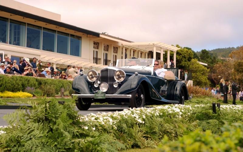 Car-Revs-Daily.com PEBBLE BEACH 2014 Concours - Award Winners Showcase by Entry Class 98