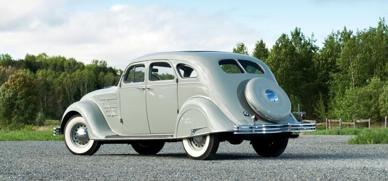 Car-Revs-Daily.com RM Auctions Motor City 2014 Preview - 1934 Chrysler Airflow Eight Sedan 2