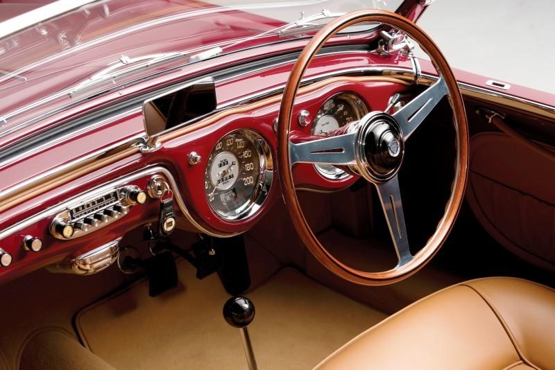 Car-Revs-Daily.com RM Monterey 2014 Preview - 1953 Lancia Aurelia PF200 C Spider by Pinin Farina  4
