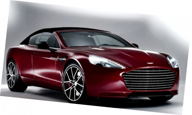 Car-Revs-Daily.com Renderings - Aston Martin RAPIDE VOLANTE from NCE 3