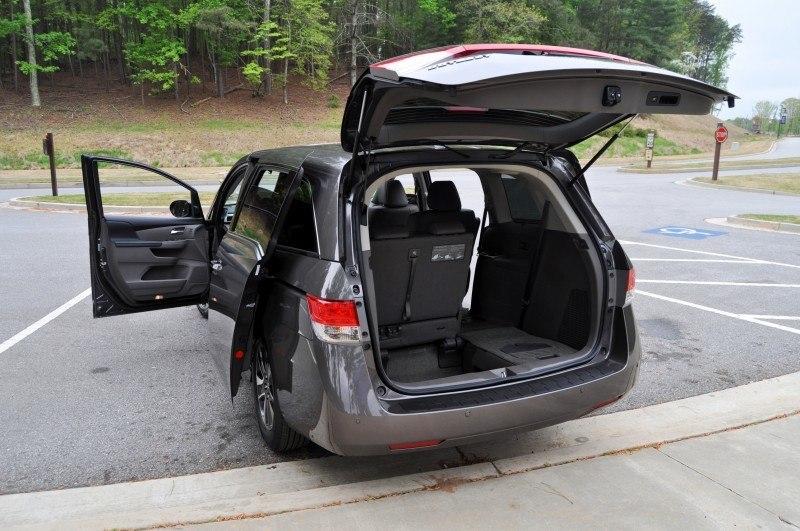 Car-Revs-Daily.com Road Test Review - 2014 Honda Odyssey Touring Elite 20