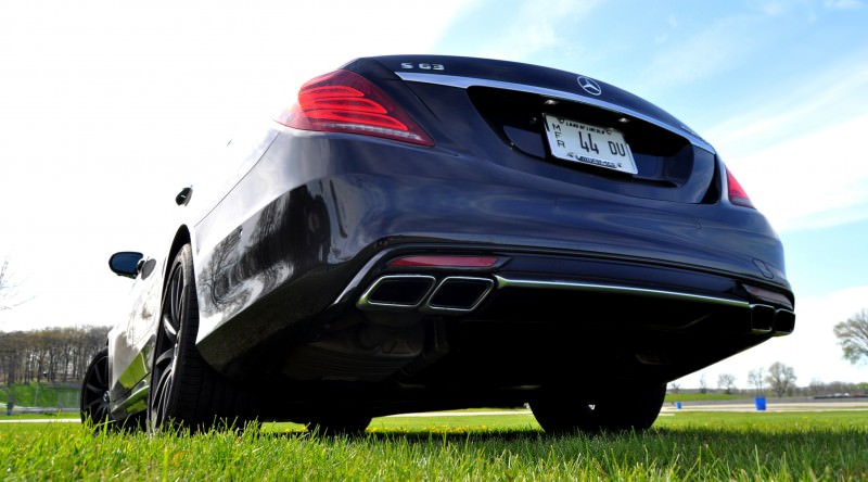 Car-Revs-Daily.com Road Test Reviews the 2015 Mercedes-Benz S63 AMG 104