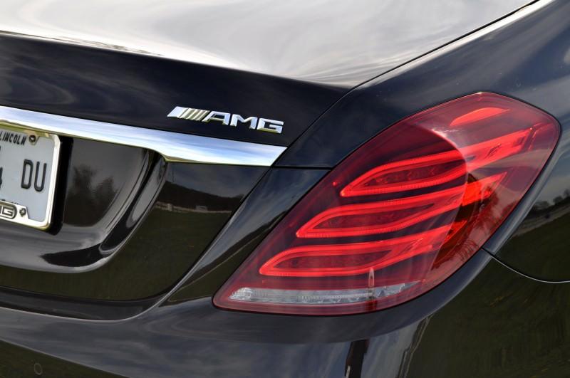Car-Revs-Daily.com Road Test Reviews the 2015 Mercedes-Benz S63 AMG 107