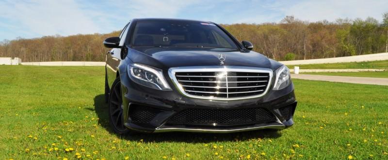 Car-Revs-Daily.com Road Test Reviews the 2015 Mercedes-Benz S63 AMG 20