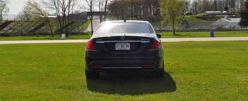 Car-Revs-Daily.com Road Test Reviews the 2015 Mercedes-Benz S63 AMG 55
