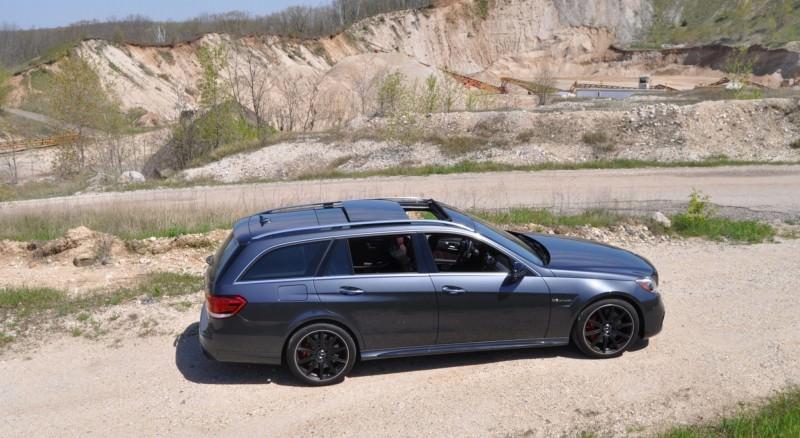 Car-Revs-Daily.com Road Tests the 2014 Mercedes-Benz E63 AMG S-Model Estate 17