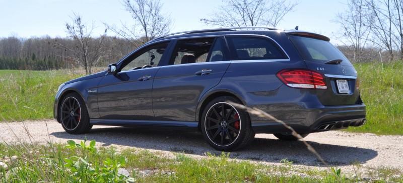 Car-Revs-Daily.com Road Tests the 2014 Mercedes-Benz E63 AMG S-Model Estate 28