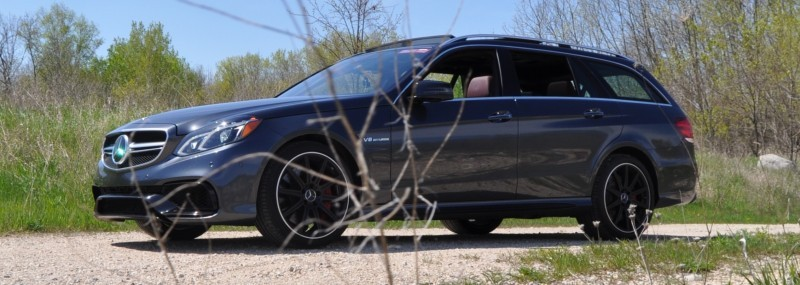 Car-Revs-Daily.com Road Tests the 2014 Mercedes-Benz E63 AMG S-Model Estate 33