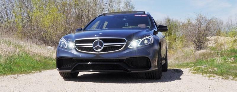 Car-Revs-Daily.com Road Tests the 2014 Mercedes-Benz E63 AMG S-Model Estate 39