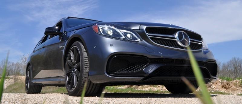 Car-Revs-Daily.com Road Tests the 2014 Mercedes-Benz E63 AMG S-Model Estate 41