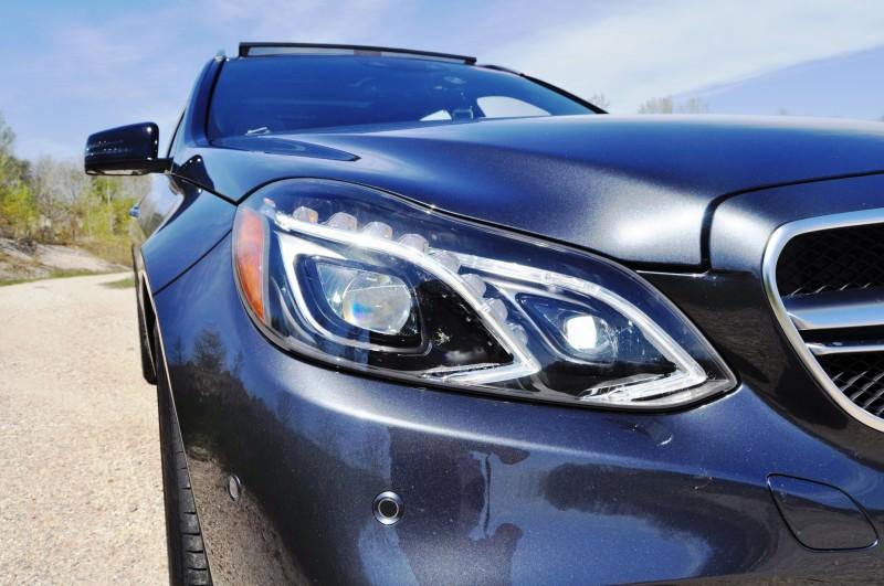Car-Revs-Daily.com Road Tests the 2014 Mercedes-Benz E63 AMG S-Model Estate 45