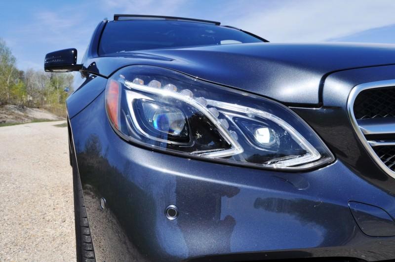 Car-Revs-Daily.com Road Tests the 2014 Mercedes-Benz E63 AMG S-Model Estate 47