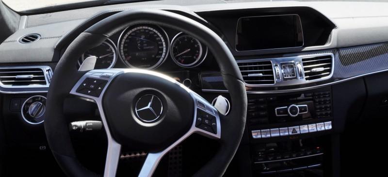 Car-Revs-Daily.com Road Tests the 2014 Mercedes-Benz E63 AMG S-Model Estate 55