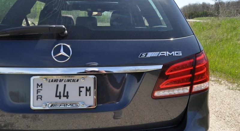 Car-Revs-Daily.com Road Tests the 2014 Mercedes-Benz E63 AMG S-Model Estate 57