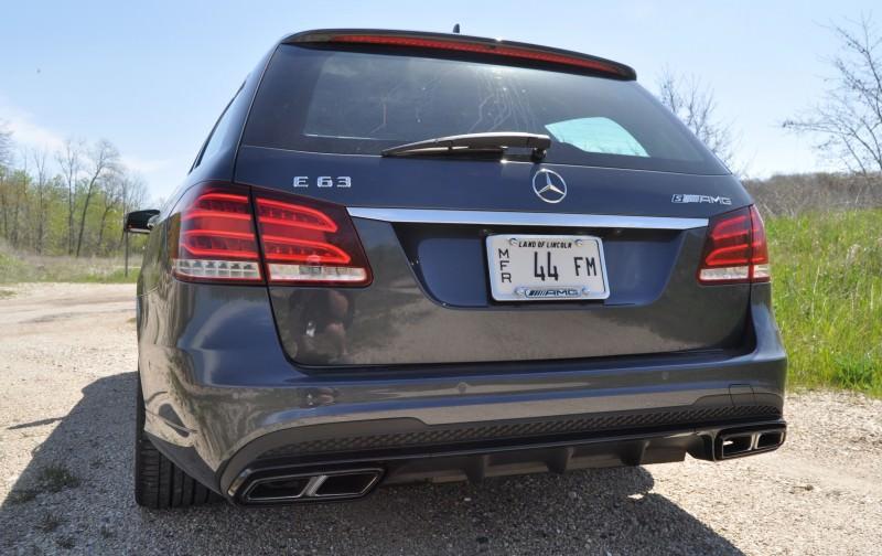 Car-Revs-Daily.com Road Tests the 2014 Mercedes-Benz E63 AMG S-Model Estate 58