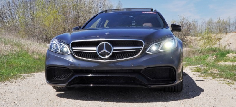 Car-Revs-Daily.com Road Tests the 2014 Mercedes-Benz E63 AMG S-Model Estate 6
