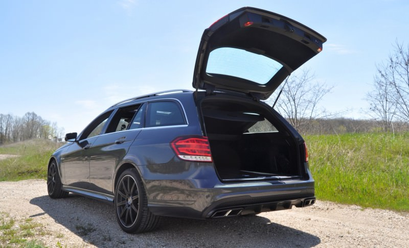 Car-Revs-Daily.com Road Tests the 2014 Mercedes-Benz E63 AMG S-Model Estate 64