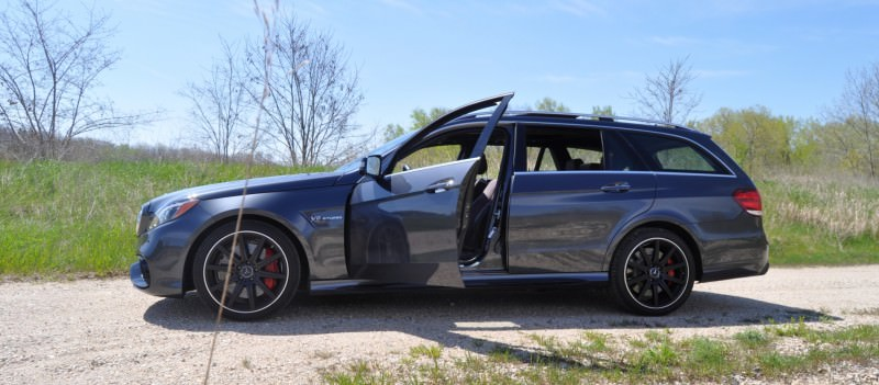 Car-Revs-Daily.com Road Tests the 2014 Mercedes-Benz E63 AMG S-Model Estate 76