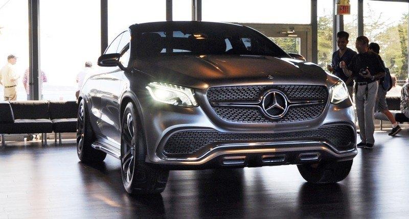 Car-Revs-Daily.com USA Debut in 80 New Photos - 2014 Mercedes-Benz Concept Coupé SUV  1