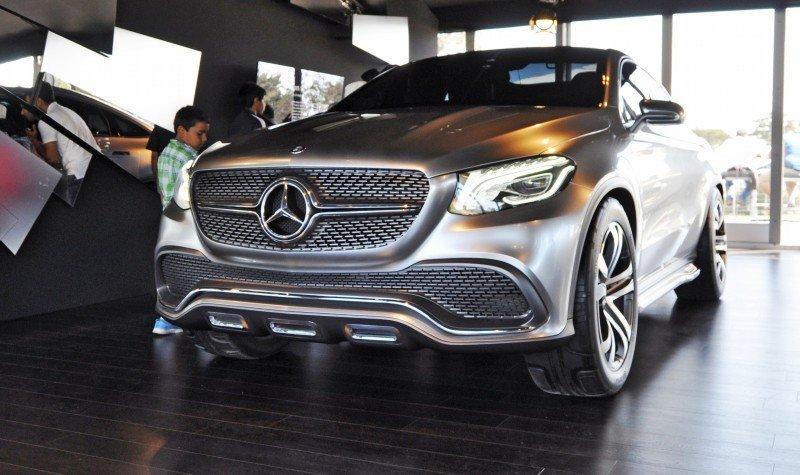 Car-Revs-Daily.com USA Debut in 80 New Photos - 2014 Mercedes-Benz Concept Coupé SUV  12