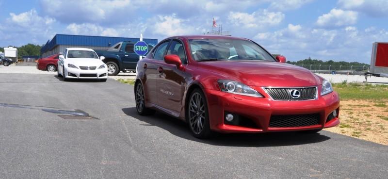 Car-Revs-Daily.com Velocity AMP Taxi Lexis IS-F 8