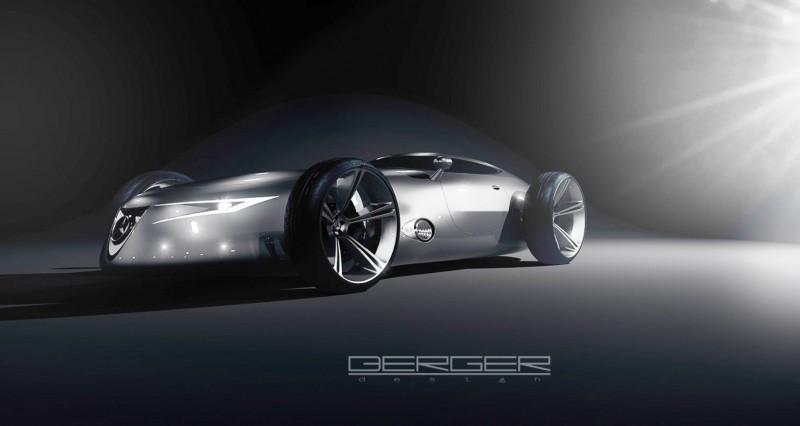 CarRevsDaily.com - Phil Berger Envisions Future Silver Arrow Racer 17