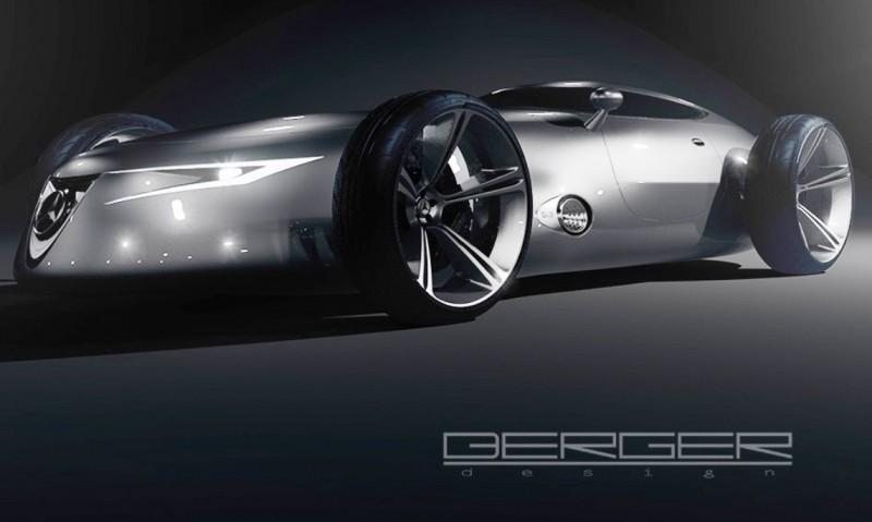 CarRevsDaily.com - Phil Berger Envisions Future Silver Arrow Racer 18