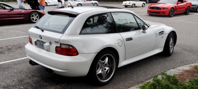 Charleston Cars & Coffee Gallery - 1999 BMW M Coupe - Vunder-BreadVan in White 18