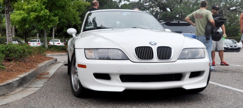 Charleston Cars & Coffee Gallery - 1999 BMW M Coupe - Vunder-BreadVan in White 2