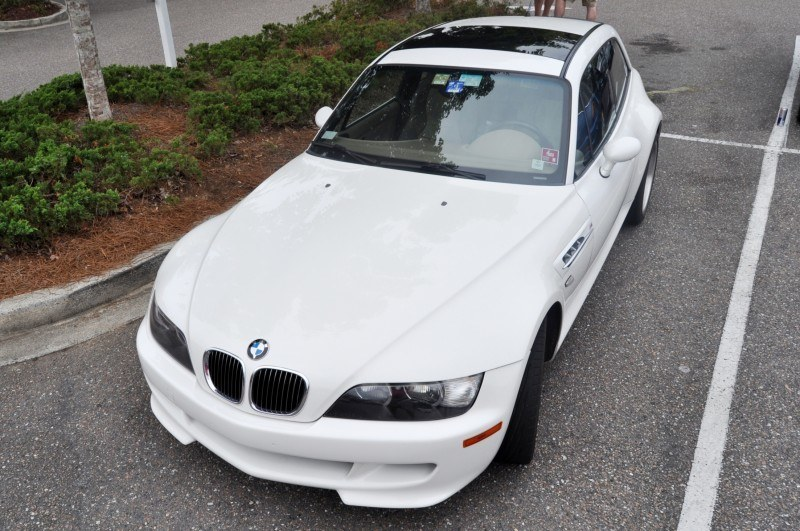Charleston Cars & Coffee Gallery - 1999 BMW M Coupe - Vunder-BreadVan in White 26
