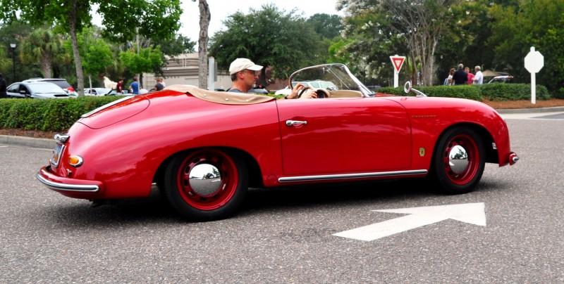 Charleston Cars and Coffee - 1955 Porsche 356 1500S Speedster 20