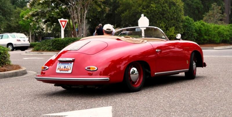 Charleston Cars and Coffee - 1955 Porsche 356 1500S Speedster 21