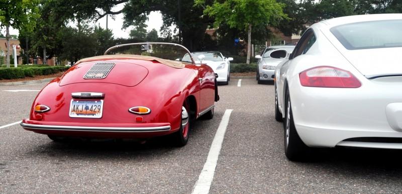 Charleston Cars and Coffee - 1955 Porsche 356 1500S Speedster 3