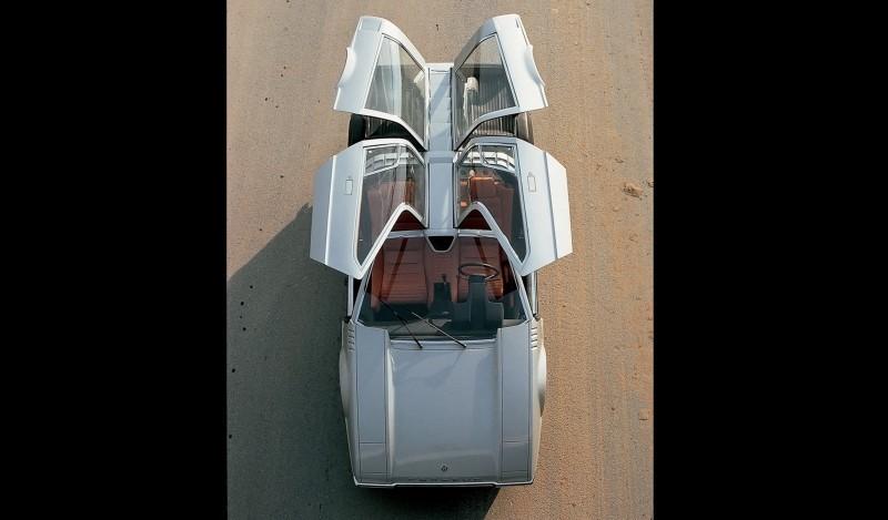 Concept Flashback - 1970 Volkswagen Porsche Tapiro by ItalDesign 1