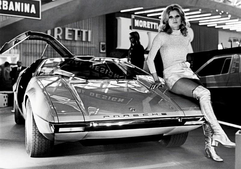 Concept Flashback - 1970 Volkswagen Porsche Tapiro by ItalDesign 12