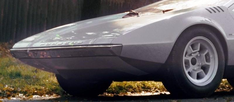 Concept Flashback - 1970 Volkswagen Porsche Tapiro by ItalDesign 9