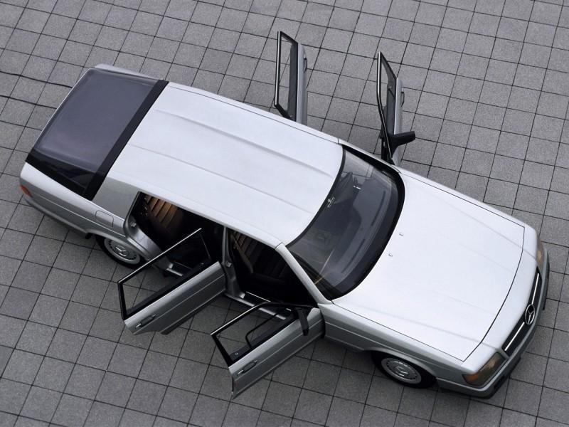 Concept Flashback - 1978 Mercedes-Benz Auto 2000 Concept Is Fastback Aero Limo11