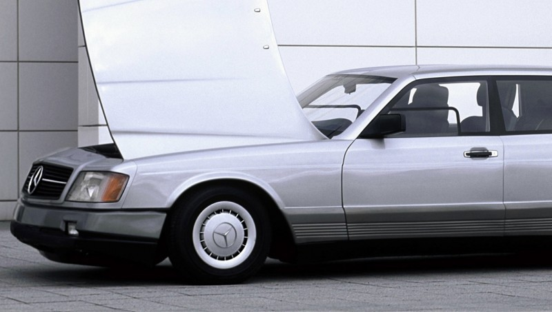 Concept Flashback - 1978 Mercedes-Benz Auto 2000 Concept Is Fastback Aero Limo6