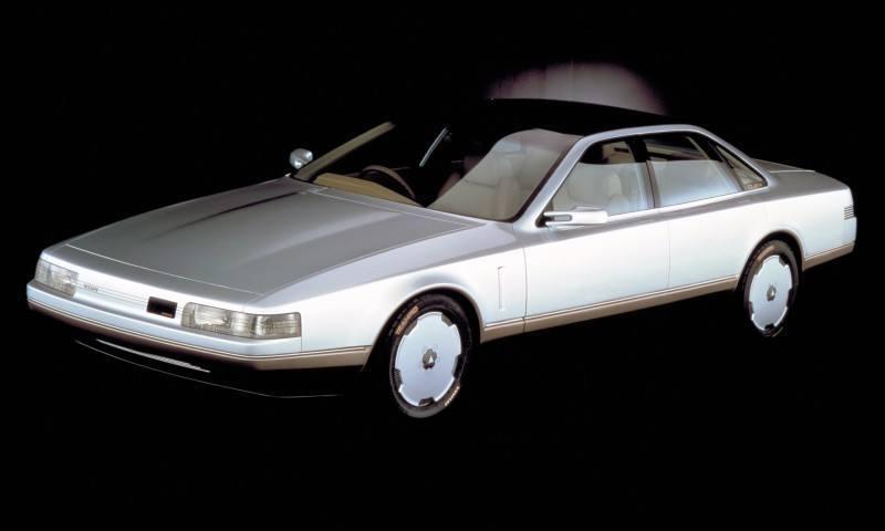 Concept Flashback - 1985 Nissan Cue-X Inspired Original Infiniti Q45 Flagship and Future Q80 14