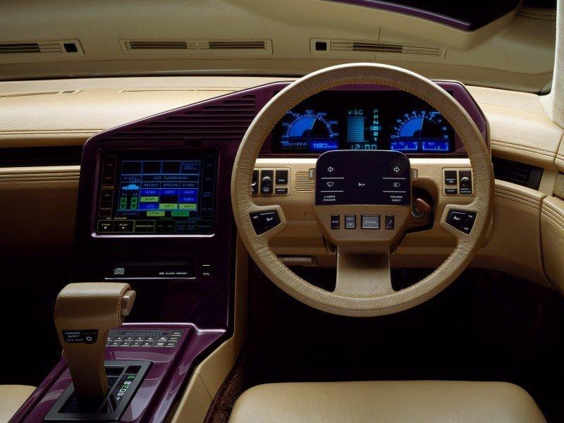 Concept Flashback - 1985 Nissan Cue-X Inspired Original Infiniti Q45 Flagship and Future Q80 17
