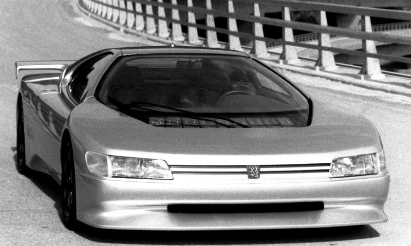 Concept Flashback - 1988 Peugeot OXIA Is T16 Mid-Engine Racecar 3