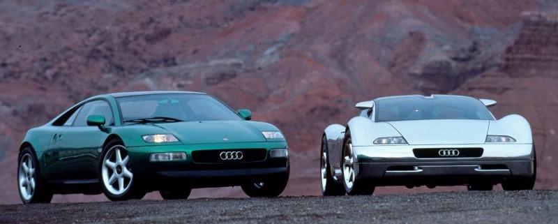 Concept Flashback - 1991 Audi Quattro Spyder Provides Clean, Modern Design Roadmap for Struggling Brand 3