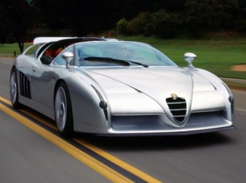 Concept Flashback - 1997 Alfa Romeo Scighera is Mid-Engine Twin-Turbo V6 Hypercar 14