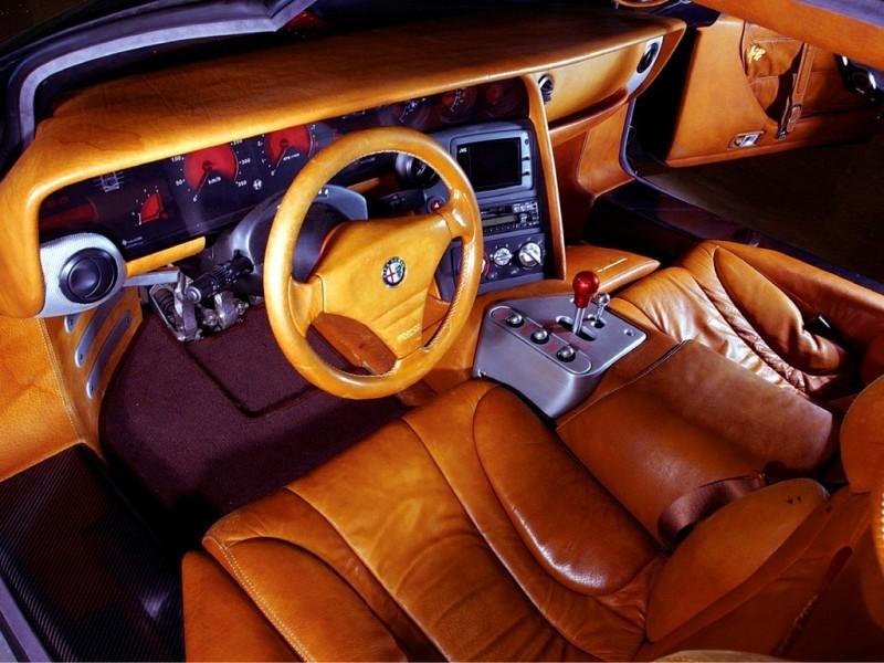 Concept Flashback - 1997 Alfa Romeo Scighera is Mid-Engine Twin-Turbo V6 Hypercar 15
