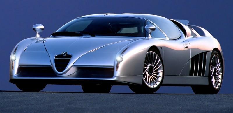 Concept Flashback - 1997 Alfa Romeo Scighera is Mid-Engine Twin-Turbo V6 Hypercar 16