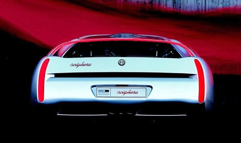 Concept Flashback - 1997 Alfa Romeo Scighera is Mid-Engine Twin-Turbo V6 Hypercar 23