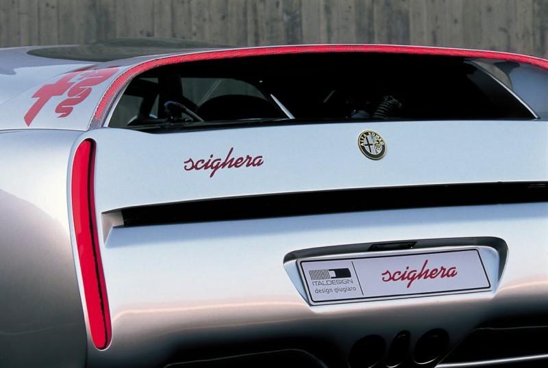 Concept Flashback - 1997 Alfa Romeo Scighera is Mid-Engine Twin-Turbo V6 Hypercar 31